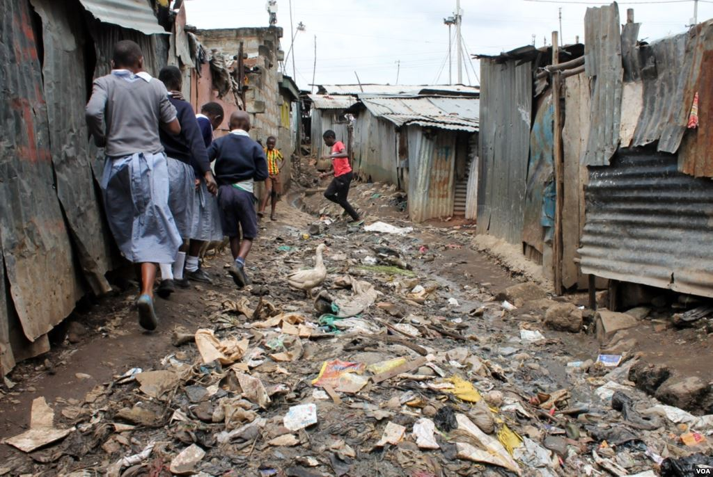Slums in Kenya